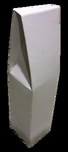 Подарочная коробка на 1 бутылку, белая