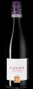 Вино Beaujolais Fleurie Clos Vernay, Domaine Lafarge Vial, 2016 г.