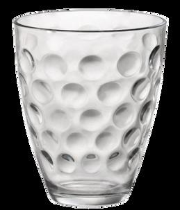 Набор из 6-ти стаканов Bormioli Dots Rocks для воды