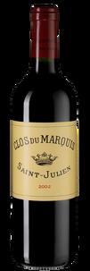 Вино Clos du Marquis, Chateau Leoville Las Cases, 2002 г.