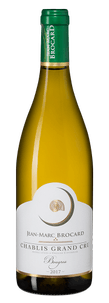 Вино Chablis Grand Cru Bougros, Jean-Marc Brocard (Domaine Sainte-Claire), 2017 г.