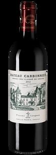 Вино Chateau Carbonnieux Rouge, 2012 г.