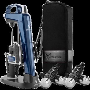Система для подачи вин по бокалам Coravin Model 2 Elite Pro (Темно-синий)