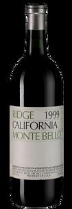 Вино Monte Bello, Ridge Vineyards, 1999 г.
