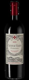 Вино Chateau Gazin, 2012 г.
