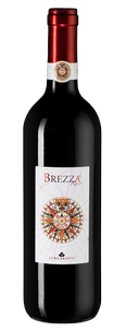 Вино Brezza Rosso, Lungarotti, 2018 г.