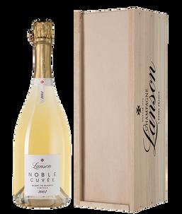 Шампанское Noble Cuvee de Lanson Blanc de Blancs, 2002 г.