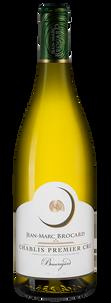 "Вино Chablis Premier Cru ""Beauregard"", Jean-Marc Brocard (Domaine Sainte-Claire), 2015 г."