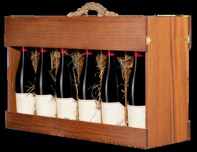 Сет для 12-ти бутылок, Бургонь, Новый Свет(сапели)