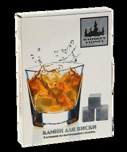 Камни для виски в картонной упаковке