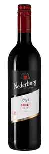 Вино Nederburg 1791 Shiraz, Distell, 2017 г.