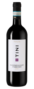 Вино Tini Montepulciano d'Abruzzo, Caviro, 2018 г.