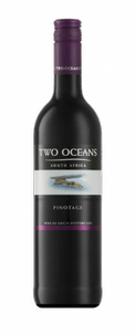 Вино Two Oceans Pinotage, Distell, 2016 г.