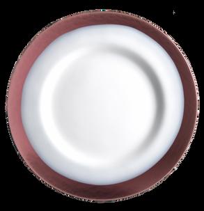 Strip sottopiatto bianco/porpora SR00107