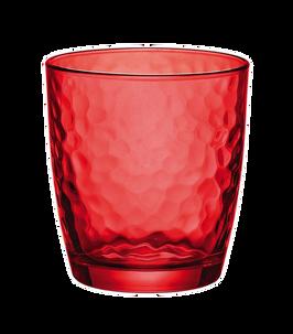 Bormioli Palatina Water Red Set of 3 pcs.