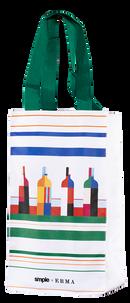 Винная сумка максималистов для 4 бутылок