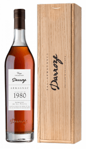 Арманьяк Bas-Armagnac Darroze Unique Collection Domaine de Laburthe a Lacquy 1980, 1980 г.