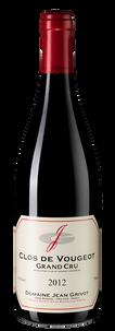 Вино Clos de Vougeot Grand Cru, Domaine Jean Grivot, 2012 г.