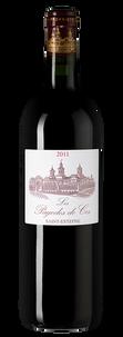 Вино Les Pagodes de Cos, Chateau Cos d'Estournel, 2011 г.