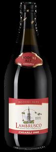 Шипучее вино Lambrusco dell'Emilia Rosso Poderi Alti, Chiarli