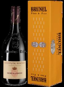 Вино Cotes du Rhone Brunel de la Gardine, Chateau de la Gardine, 2018 г.