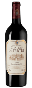 Вино Chateau du Tertre, 2003 г.