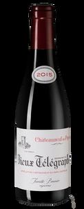 Вино Chateauneuf-du-Pape Vieux Telegraphe La Crau, Vignobles Brunier, 2015 г.