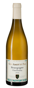 Вино Bourgogne Chardonnay, Domaine Amiot Guy et Fils, 2016 г.