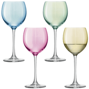 Polka Wine Pastel Assorted Set of 4 pcs