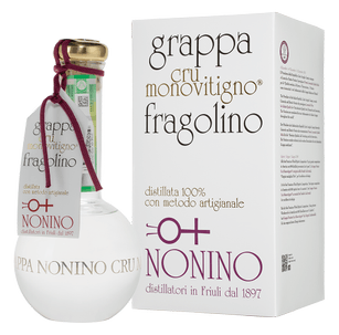 Граппа Cru Monovitigno Fragolino