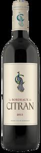Вино Le Bordeaux de Citran Rouge, Chateau Citran, 2015 г.