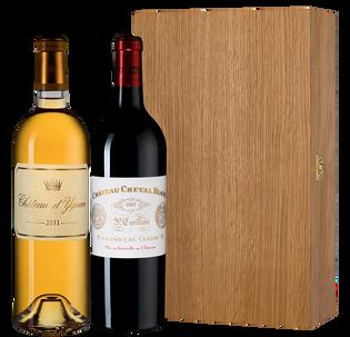 Вино Набор Chateau d'Yquem & Chateau Cheval Blanc