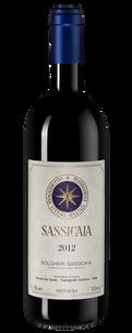 Вино Sassicaia, Tenuta San Guido, 2012 г.