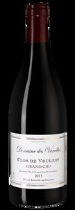 Вино Clos de Vougeot Grand Cru, Domaine de Varoilles, 2013 г.
