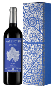 Вино Valenciso Reserva, Compania Bodeguera de Valenciso, 2010 г.