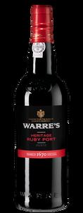 Портвейн Warre`s Heritage Ruby Port